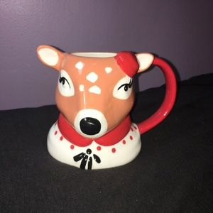 Christmas Reindeer Coffee Mug Tea Cup